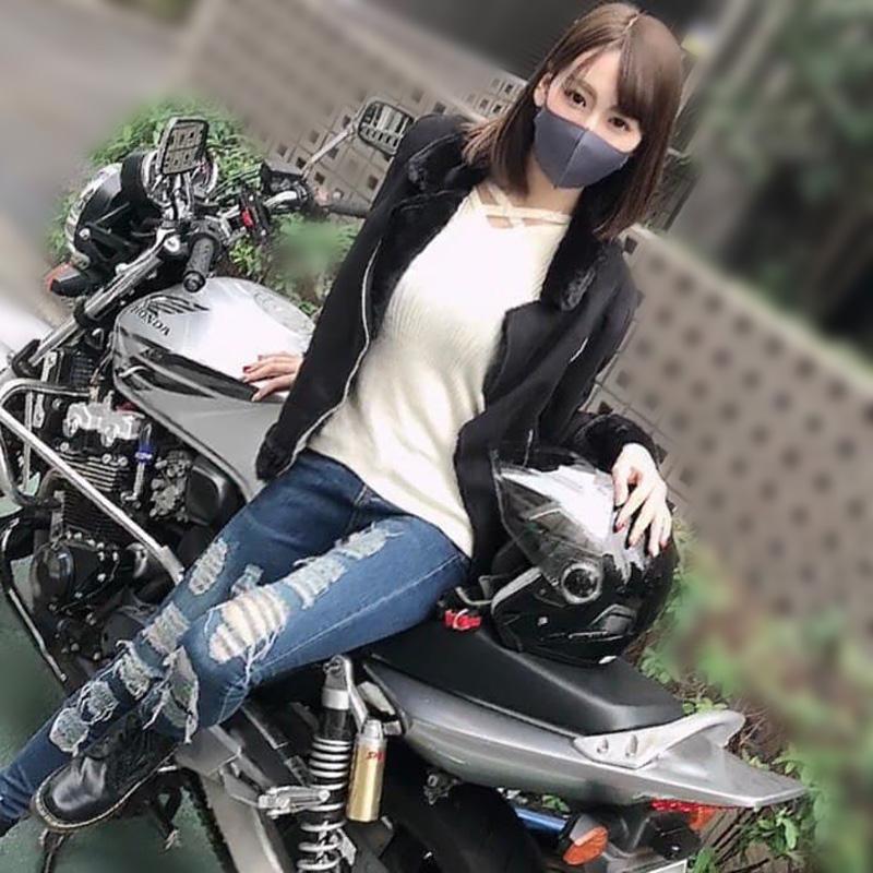 個数限定【無】高身長バイク女子連続中出し